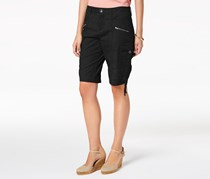 Style & Co Petite Cargo Shorts, Deep Black