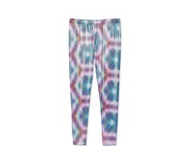 Epic Threads Kaleidoscope Printed Leggings, Bold Fuchsia