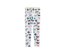 Epic Threads Butterfly-Print Leggings, Ghost Heather