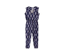 Epic Threads Big Girls Printed Jumpsuit, Medieval Blue