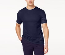Club Room Men's Tipped Performance T-Shirt, Navy Blue