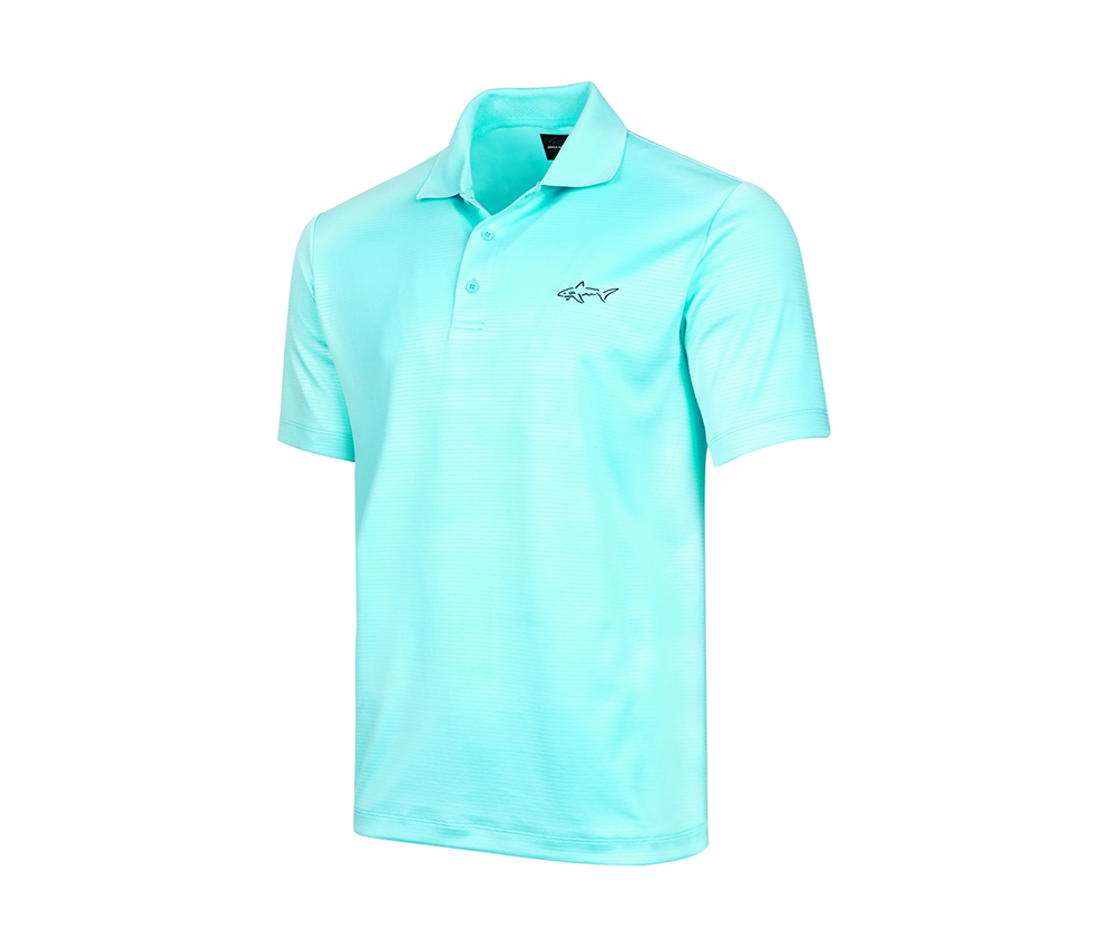 for Tasso Elba Men's Embossed Polo, Light Pool Blue