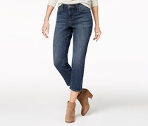 Style & Co Ankle-Zip Capri Jeans, Skyfall