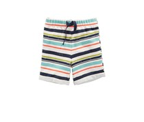 First Impressions Baby Boys Striped Shorts, Heather Dune