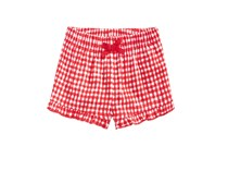 First Impressions Ruffled Cotton Shorts, Lollipop