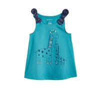 First Impressions Baby Girls Graphic-Print Cotton Top, Coastline