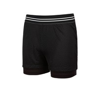 Ideology Girls Mesh Shorts, Noir