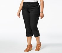 Style & Co Plus Size Convertible Cargo Pants, Deep Black