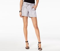 INC International Concepts Pull-On Drawstring Shorts, Sky Grey