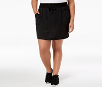 Ideology Women's Plus Size Active Mini Skirt, Noir