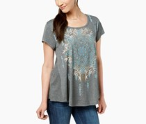 Style Co Graphic-Print Swing T-Shirt, Dream Medallion