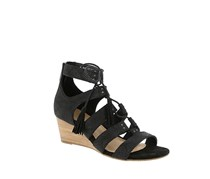 UGG Women's Yasmin Snake Wedge Sandals, Black