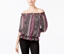 Bcx Juniors' Off-The-Shoulder Top, Combo