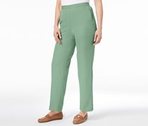 Alfred Dunner Daydreamer Pull-On Pants, Mint