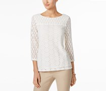 Charter Club Lace Top, Cloud