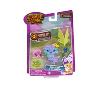 Animal Jam Von Otter And Pet Hamster, Purple