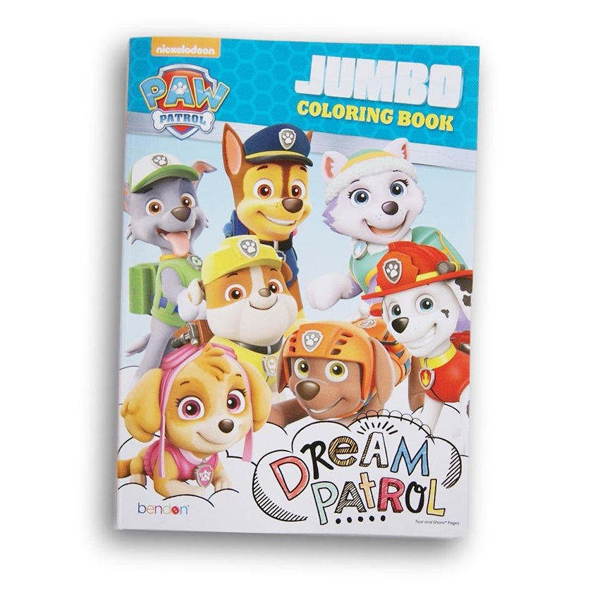 Shop Paw Patrol Paw Patrol Jumbo Coloring Activity Book