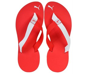 Puma Men's Slippers Sport Life Style, Red/White