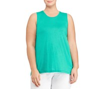 Ralph Lauren Women's Scoopneck Tank, Green