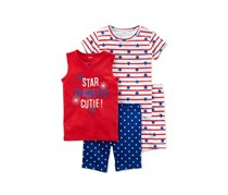 Carters 4-Pc. Star Spangled Cutie, Red/ White/ Blue