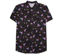 My Little Pony Men's Space Pony Shirt, Navy/Pink