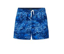 Polo Ralph Lauren Toddler Printed Swim Trunks, Blue Combo