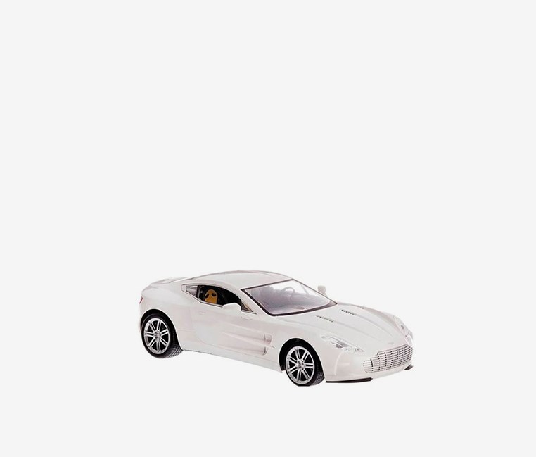 Aston Martin Rechargeable Remote Control Car, White