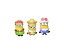 IMC Toys Despicable Me 3 Splashers Bath Minions 3 Pack, Yellow Combo