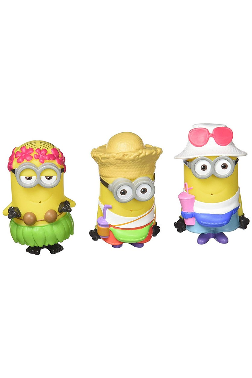 Despicable Me 3 Splashers Bath Minions 3 Pack, Yellow Combo