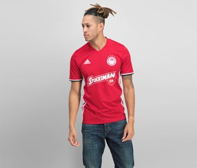 Adidas Men's OFC 3rd T-Shirt, Red/White