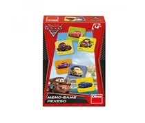 Disney Cars Memory Game By Dino Toys, Red