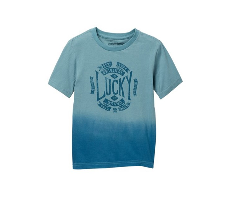Big Boys Short Sleeve Graphic Tee, Mineral Blue