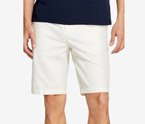 DKNY Mens Relaxed-Straight Fit Shorts, Marshmallow