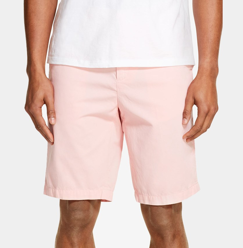 Mens Relaxed-Straight Fit Short, Quartz Pink