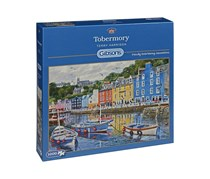 Gibsons Tobermory Terry Harrison 1000 Pieces Puzzle, Blue