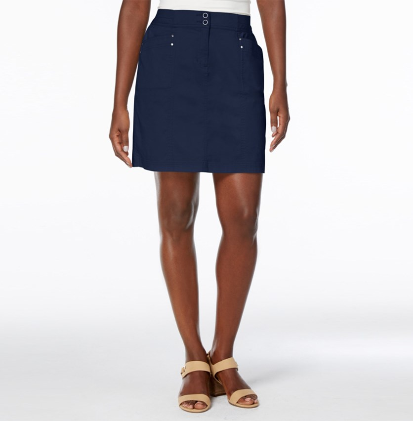 A-Line Skort, Intrepid Blue