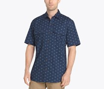 G.H. Bass Co. Mens Explorer Printed, Fishing Indigo