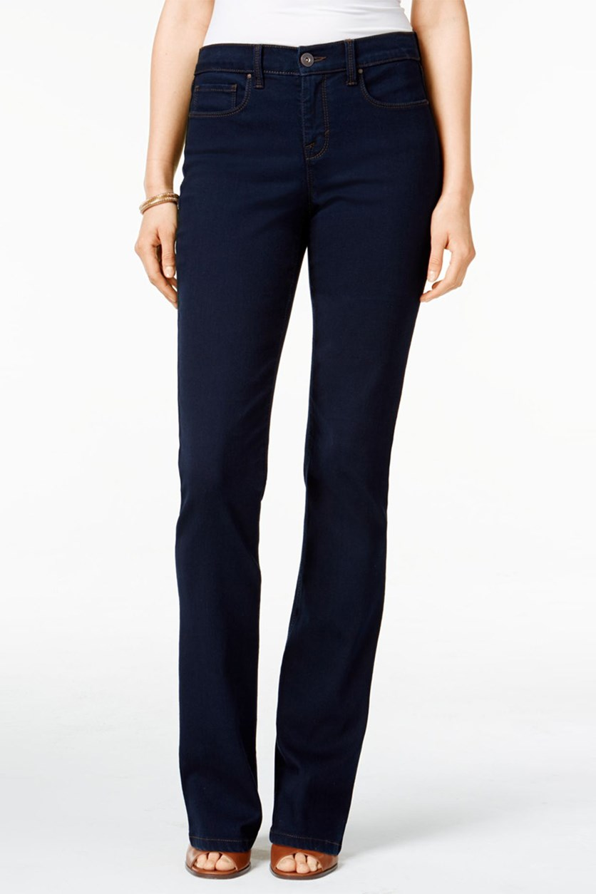 Bootcut Tummy-Control Jeans, Rinse