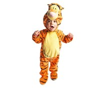 Disney Baby Tigger Plush All-in-One Romper with Moulded Head, Orange