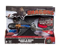 How to Train Your Dragon Blast and Roar Toothless, Black