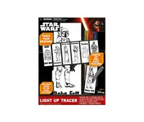 Star Wars Light Up Fun Tracer Play Set, Black Combo