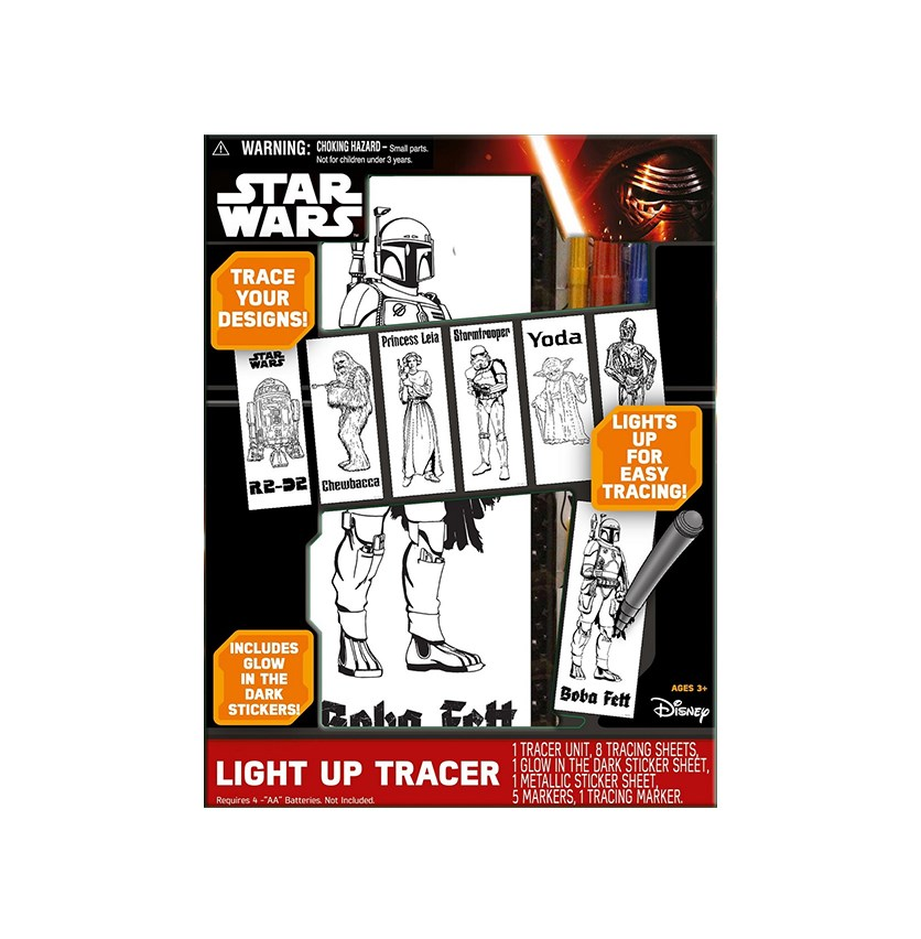 Light Up Fun Tracer Play Set, Black Combo