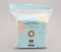 Dual Use Bag Packed Cotton Pad
