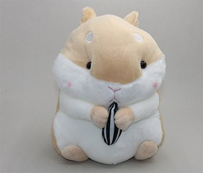 Large Size Cute Hamster Plush, Brown