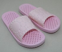 Women's Hole Sole Massage Slippers, Pink