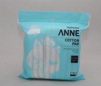 Anne Bag Packed Cotton Pad, White