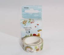 Japan Life Making Tape, White