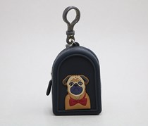 Lovely Animals Coin Purse, Black