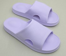 Women's Massage Open-Toed Slippers, Light Purple