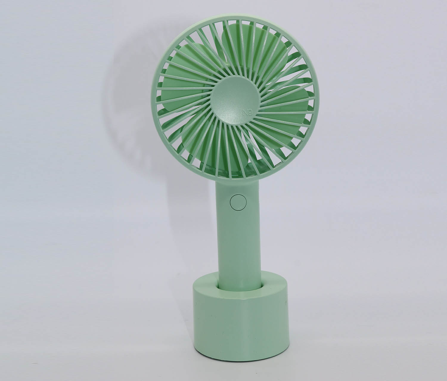 Handheld Electric Fan, Green